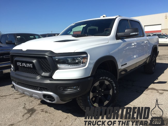 New 2019 Ram All-New 1500 Rebel Truck Crew Cab in Mississauga