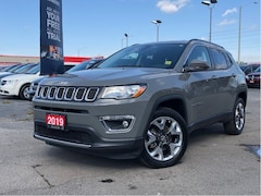 2019 Jeep Compass LIMITED**4X4**LEATHER**8.4 TOUCHSCREEN** SUV