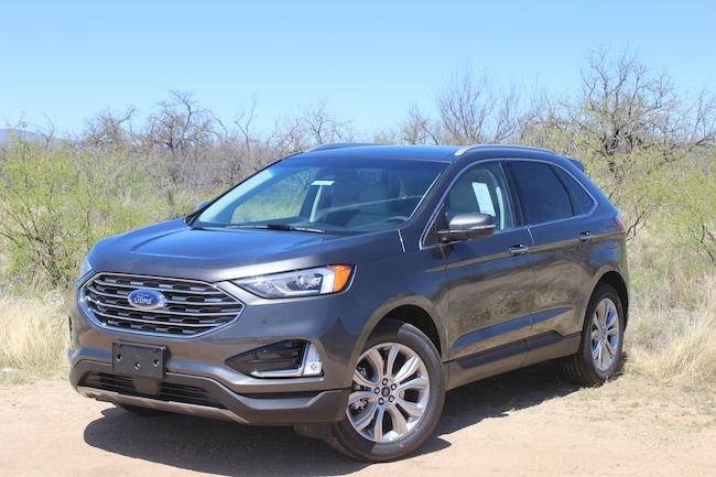 New 2019 Ford Edge Titanium Crossover Tucson