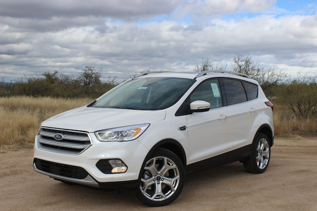New 2019 Ford Escape Titanium SUV Tucson