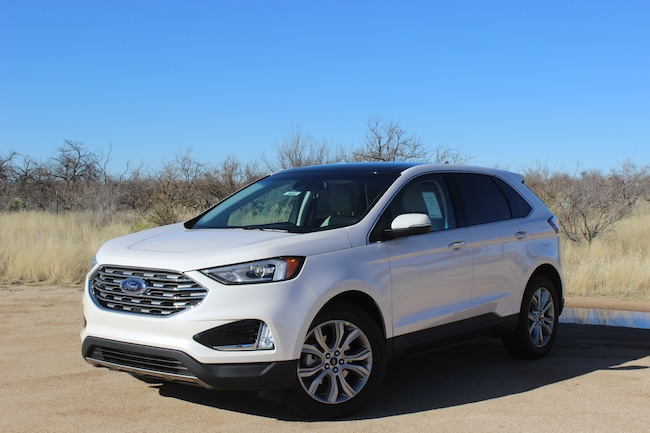 New 2019 Ford Edge Titanium Crossover Tucson