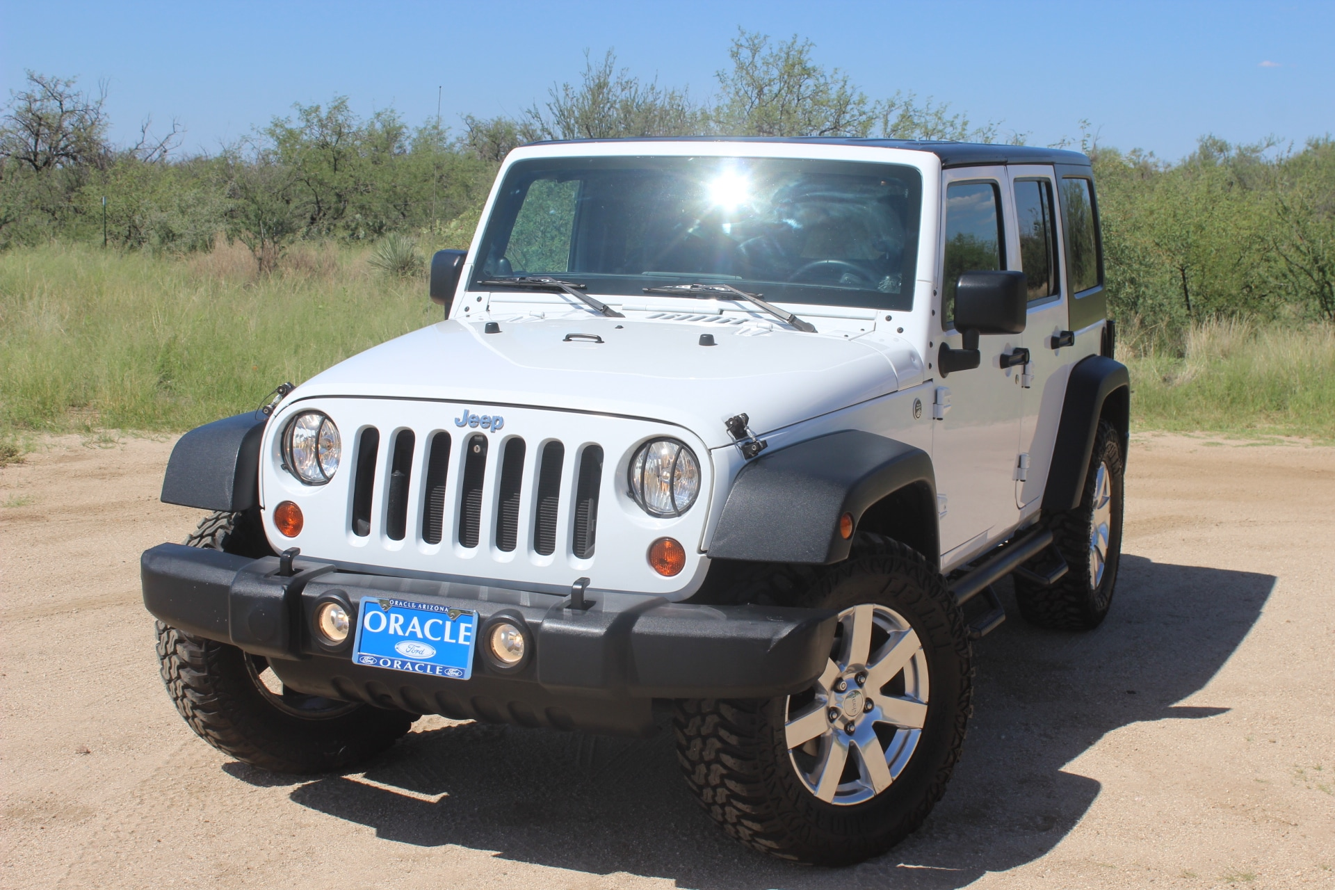 Used 2012 Jeep Wrangler Unlimited Sport SUV for sale in Oracle, AZ
