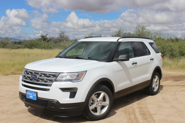 New 2018 Ford Explorer Explorer SUV Tucson