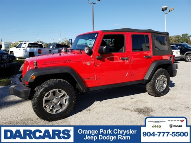 Used 2014 Jeep Wrangler Unlimited Rubicon 4x4 SUV in Jacksonville, FL