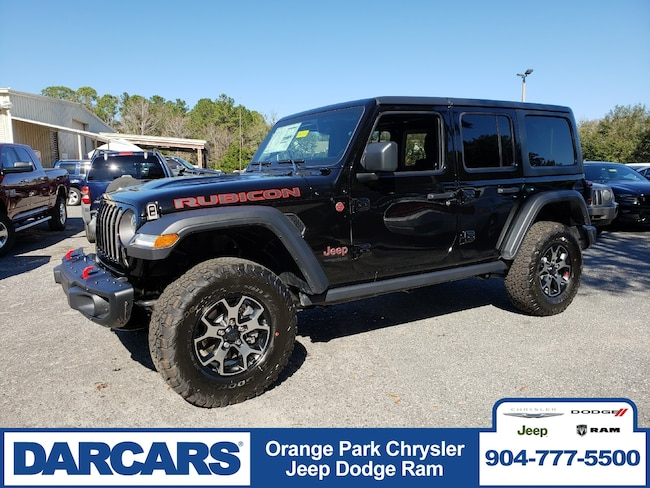 New 2018 Jeep Wrangler UNLIMITED RUBICON 4X4 Sport Utility in Jacksonville