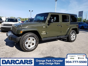 2015 Jeep Wrangler Unlimited Sahara 4x4 SUV