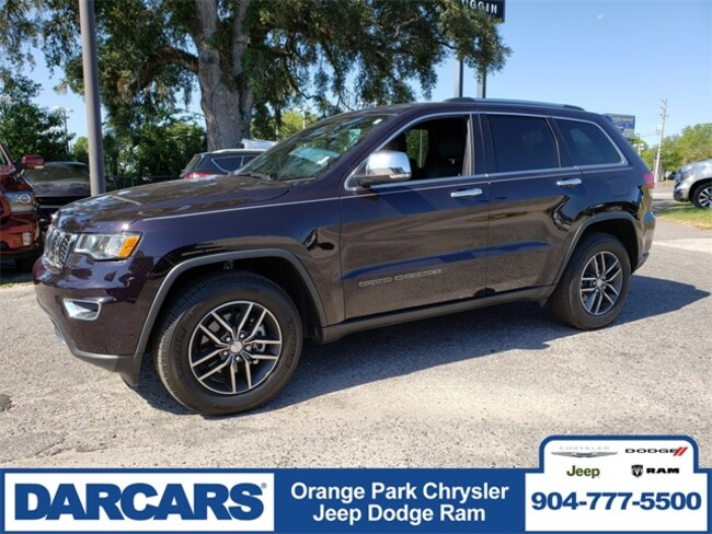 Used 2018 Jeep Grand Cherokee Limited RWD SUV in Jacksonville, FL