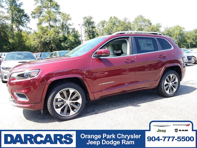 New 2019 Jeep Cherokee OVERLAND FWD Sport Utility in Jacksonville
