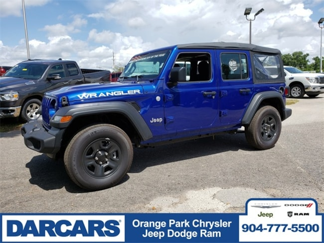 Used 2018 Jeep Wrangler Unlimited Sport 4x4 SUV in Jacksonville, FL