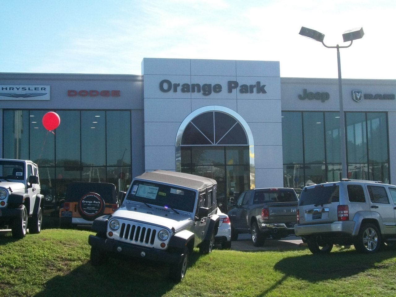 Jacksonville New Car Dealer Orange Park Chrysler Dodge Jeep RAM - Jeep chrysler dealerships