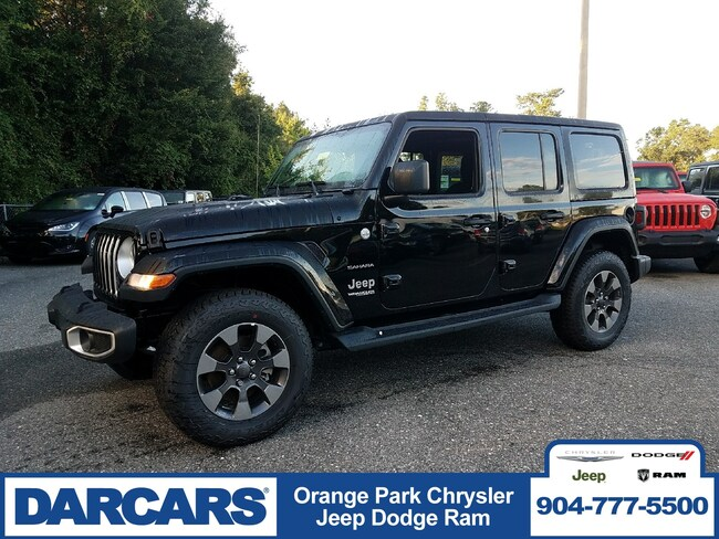 New 2018 Jeep Wrangler UNLIMITED SAHARA 4X4 Sport Utility in Jacksonville