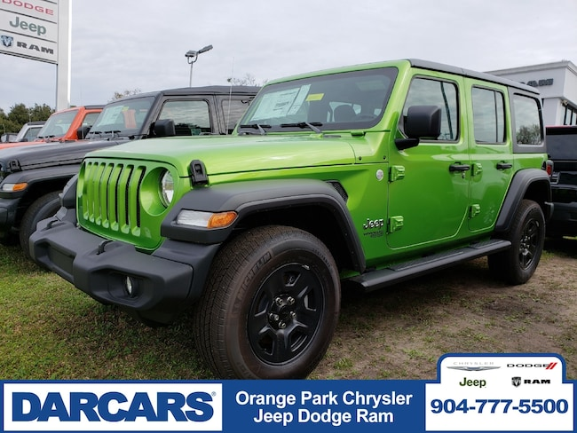 New 2018 Jeep Wrangler UNLIMITED SPORT 4X4 Sport Utility in Jacksonville