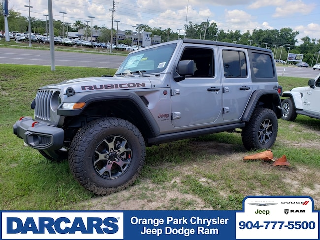 New 2019 Jeep Wrangler UNLIMITED RUBICON 4X4 Sport Utility in Jacksonville
