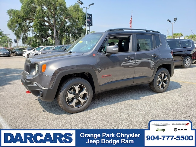 New 2019 Jeep Renegade TRAILHAWK 4X4 Sport Utility in Jacksonville