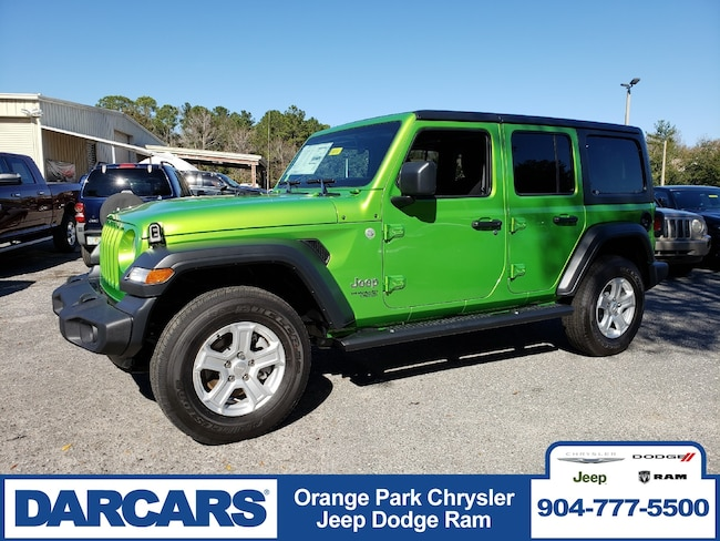 New 2018 Jeep Wrangler UNLIMITED SPORT S 4X4 Sport Utility in Jacksonville