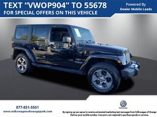 2017 Jeep Wrangler Unlimited Sahara Sport Utility