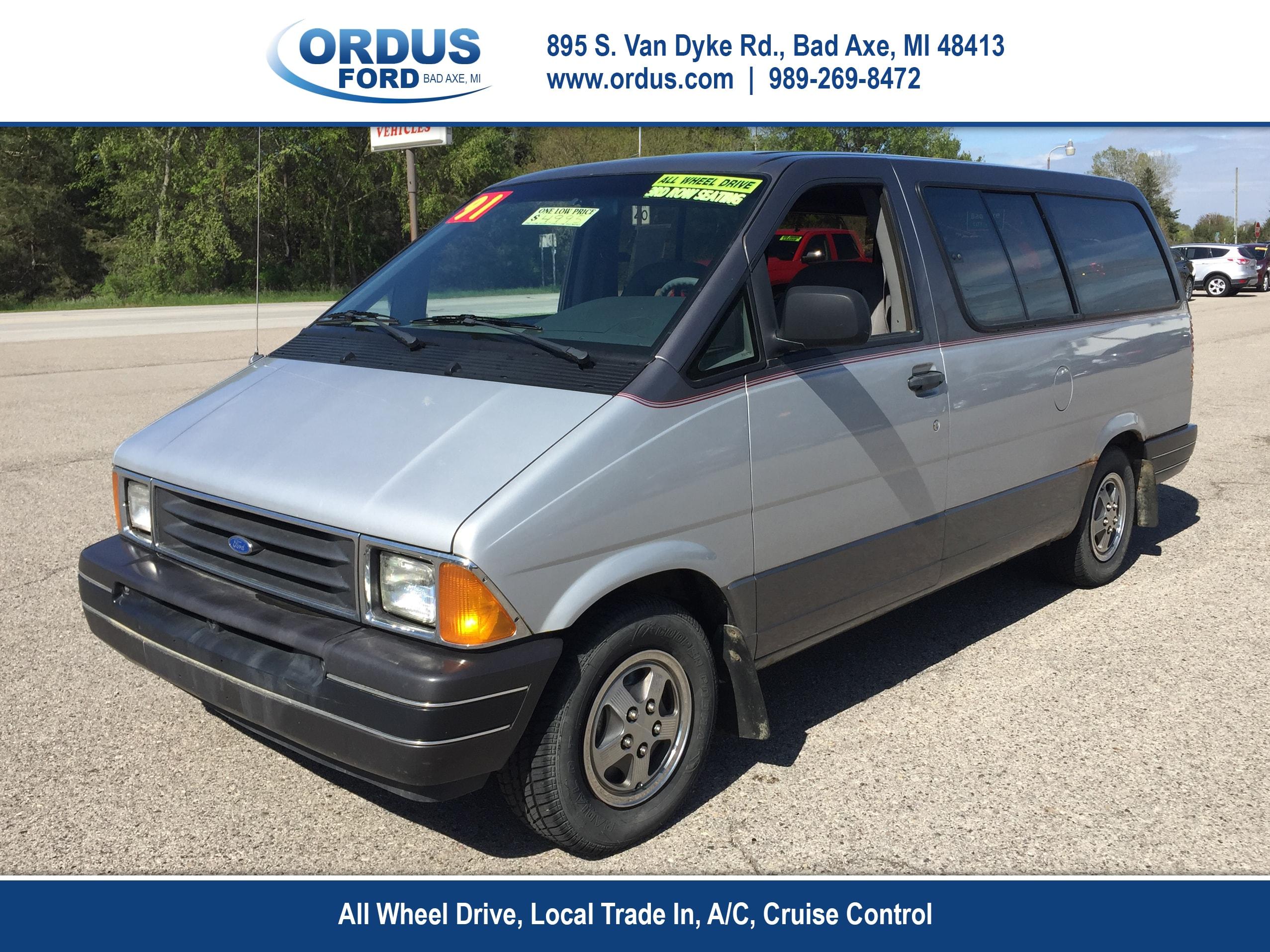 1991 Ford Aerostar XL AWD 3dr Extended Mini Van Minivan