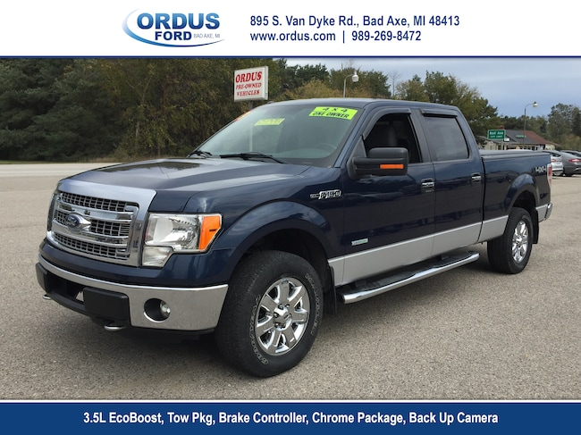 2013 Ford F-150 XLT 4x4 4dr Supercrew Styleside 6.5 ft. SB Pickup Truck