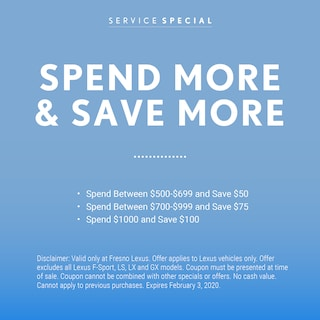 Spend More and Save More