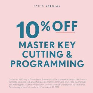 Master Key Cutting and Programming