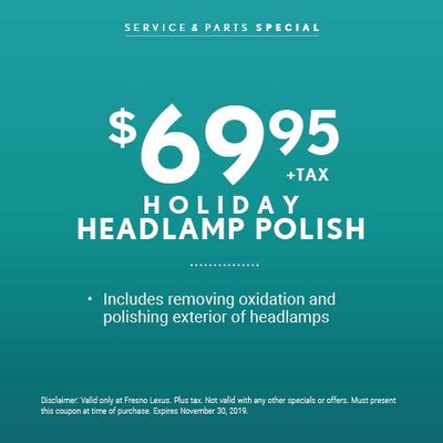 Holiday Headlamp Polish