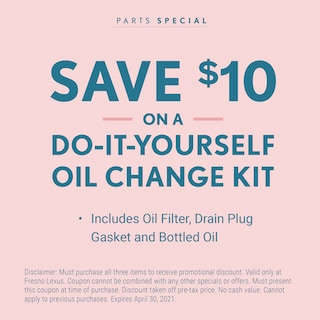 Do-It-Yourself Oil Change Kit