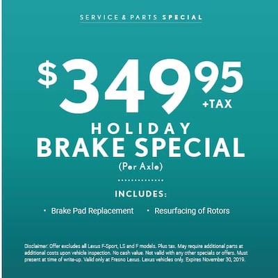 Holiday Brake Special