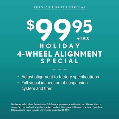 Holiday 4-Wheel Alignment Special
