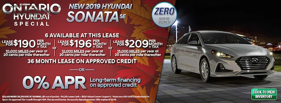 Ontario Hyundai   #1 Hyundai Dealer in the Inland Empire