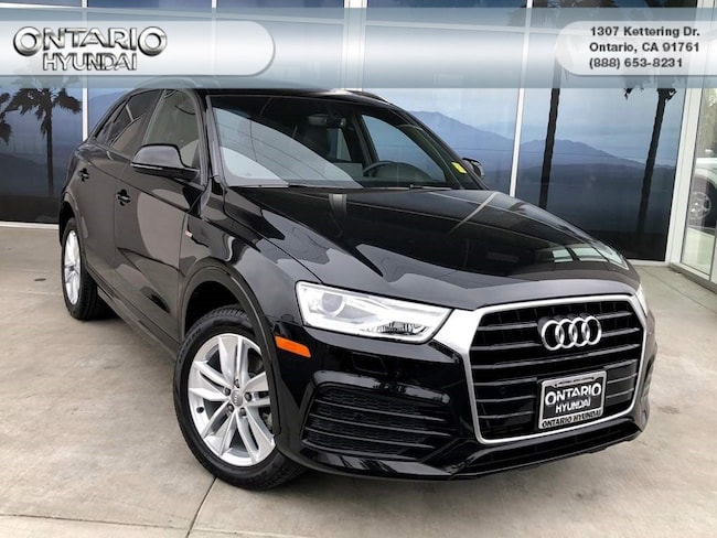 Used 2018 Audi Q3 2.0T SUV in Greater Ontario, CA