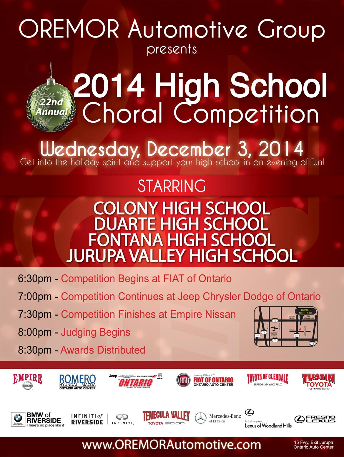 2014 Choral Competition | Empire Nissan