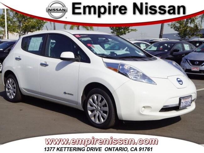 2015 Nissan LEAF S Hatchback