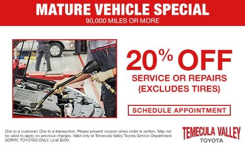 picture regarding Toyota Service Coupons Printable identified as Support Offers Temecula Valley Toyota Temecula, CA 92591