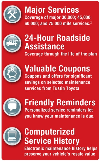 Toyotacare Roadside Assistance Number >> Toyotacare Plus Tustin Toyota