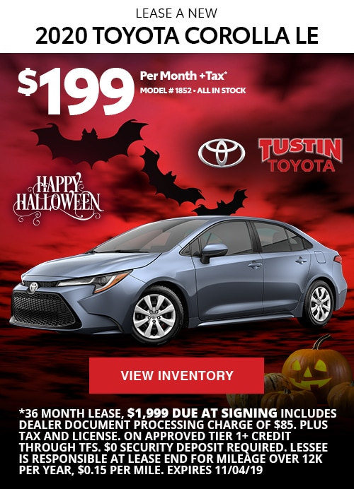 Tustin Toyota Service >> Tustin Toyota Specials On New And Used Cars Trucks Vans
