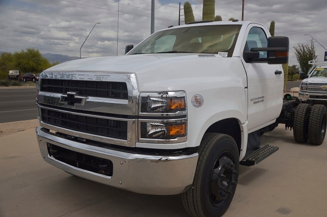 2019 Chevrolet Silverado 5500HD Truck Regular Cab