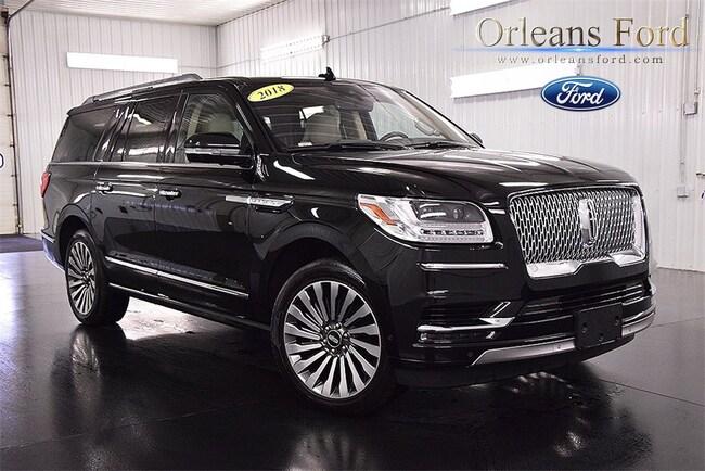 Used 2018 Lincoln Navigator For Sale Medina Ny 5lmjj3lt5jel06374
