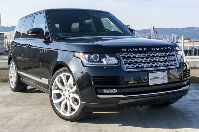 used 2014 land rover range rover for sale at land rover portland