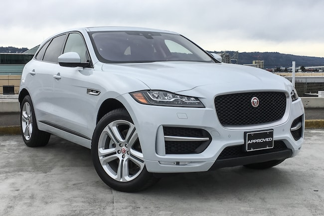 used 2017 jaguar f-pace for sale at land rover portland | vin