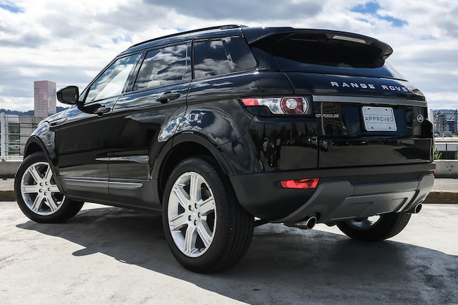 Used 2015 Land Rover Range Rover Evoque For Sale at Land Rover