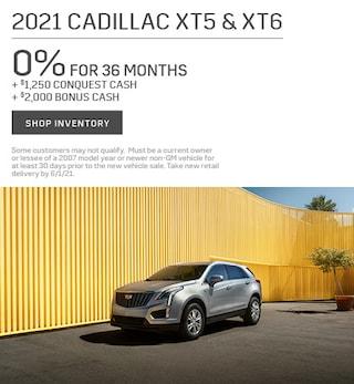 2021 Cadillac XT5 & XT6