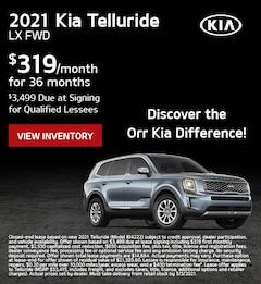 April 2021 Kia Telluride