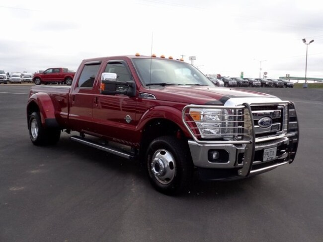 Used 2015 Ford F-350SD Lariat Truck in Osseo, WI