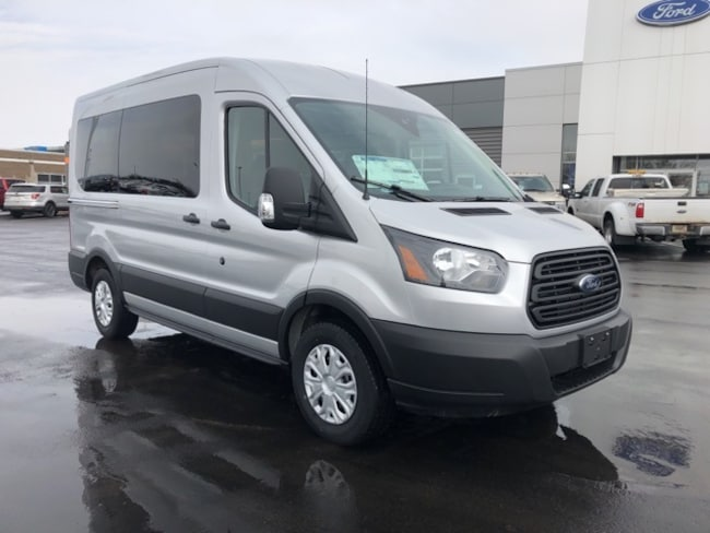 New 2019 Ford Transit-150 XLT Wagon in Osseo