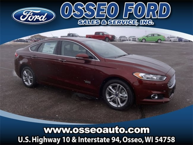 New 2015 Ford Fusion Energi Titanium Sedan in Osseo