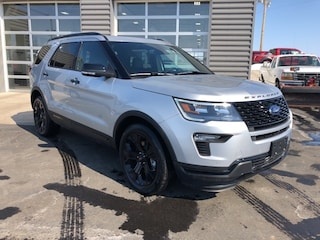 New 2019 Ford Explorer Sport SUV 1FM5K8GT8KGB39555 8510 in Osseo