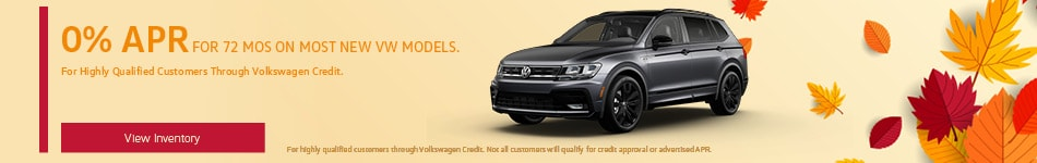 New VW Models - 0% APR