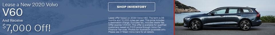 2020 Volvo V60 - $7,000 Off