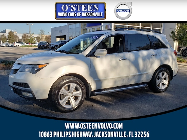 Used 2011 Acura MDX With Technology Package SUV Jacksonville, FL