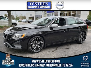 Pre-Owned 2017 Volvo V60 T6 AWD R-Design Platinum Wagon YV149MSS5H1333971 for Sale in Jacksonville near Fruit Cove